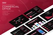 Development of corporate identity, BrendBook, packaging, comm. offers 14 - kwork.com
