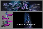 I Will Create A Cool Twitch Channel Design 10 - kwork.com