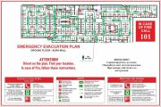 Emergency evacuation plan, map 11 - kwork.com