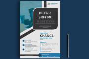I will Create Creative Flyer design 24 hours 5 - kwork.com