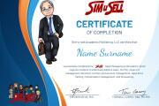 Professional Certificate Design 16 - kwork.com