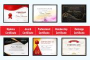 Professional Certificate Design 11 - kwork.com