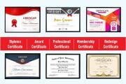 Professional Certificate Design 10 - kwork.com