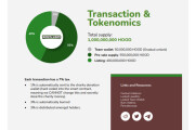 I will design crypto white paper, cryptocurrency, crypto coins 12 - kwork.com
