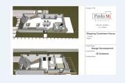 Creative Floor Plan Design of House 2D, 3D Drawings 13 - kwork.com