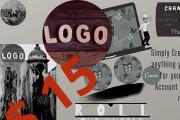 Simply create professional, elegant-unique, and classic LOGO design 5 - kwork.com