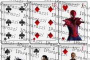 Playing cards with movie characters 9 - kwork.com
