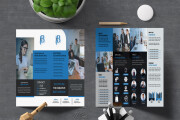I will design a professional flyer Poster and brochure in 24 hours 16 - kwork.com