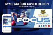 I will create Facebook cover photo and other social media banner 5 - kwork.com