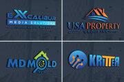 I will do modern minimalist logo design 6 - kwork.com