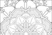 I will give you 1950 premium mandala coloring page 14 - kwork.com