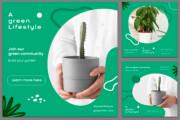 Design social media posts graphics 6 - kwork.com