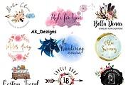 I will Do Modern Minimalist Logo design for your business 13 - kwork.com