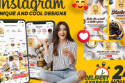 I will design Instagram or Facebook post and stories using Canva 9 - kwork.com
