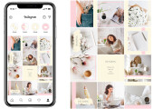 I will design beautiful Instagram posts and story covers 8 - kwork.com