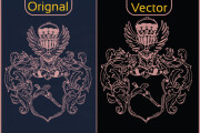 Any image or logo vector tracing, recreate logo and raster to vector 4 - kwork.com