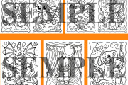 60 Halloween coloring pages for adults and kids 5 - kwork.com