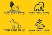 I will make modern animal logo design in 24hrs 6 - kwork.com