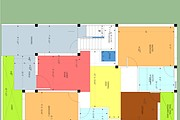 Architecture drawings, Township Layout plans, Residential Floor plans 10 - kwork.com