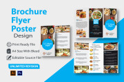 I will design a professional flyer Poster and brochure in 24 hours 14 - kwork.com