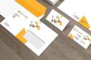 Corporate identity. Logo, business card, letterhead, favicon 6 - kwork.com