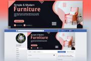 I will design facebook cover ads banner social media cover post banner 5 - kwork.com