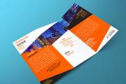 I will design corporate tri-fold or bi-fold brochure for business 12 - kwork.com