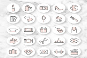 Instagram stories highlight icons design 6 - kwork.com