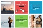 I will design professional instagram banners, ads, post images 11 - kwork.com