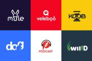 I will creative modern minimalist, luxury, unique business logo design 6 - kwork.com
