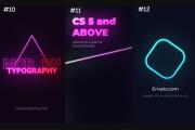 Neon Instagram stories 10 - kwork.com