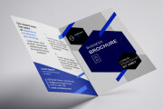 I will design corporate tri-fold or bi-fold brochure for business 14 - kwork.com