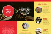 I will design brochures or booklets for you 10 - kwork.com