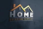 I will design or redesign logo, minimalistic logo design, 3d logo 9 - kwork.com