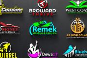I will design or redesign logo, minimalistic logo design, 3d logo 7 - kwork.com