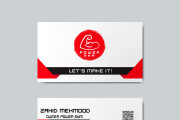 I will design professional stationery items business card letterhead 18 - kwork.com