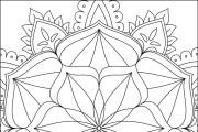 I will give you 1950 premium mandala coloring page 22 - kwork.com