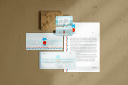 I will design professional stationery items business card letterhead 11 - kwork.com
