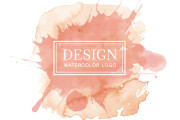 I will design a watercolor logo for your company 9 - kwork.com
