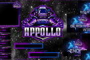 I will design twitch banners, logo, overlays, alerts and animations 6 - kwork.com