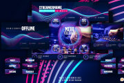 I will design twitch banners, logo, overlays, alerts and animations 5 - kwork.com