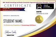 I will create an awesome certificate design 8 - kwork.com