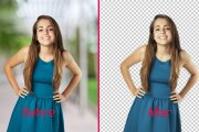 Removing, changing the background on your photos 8 - kwork.com