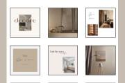 Design of post and stories instagram 10 - kwork.com