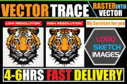I will convert raster logo into vector high resolution ai, eps, svg 5 - kwork.com