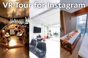 VR Tour 360 for Instagram and Facebook Panoramas 4 - kwork.com