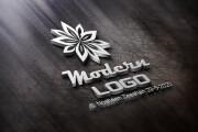 I will design modern LOGO with a FREE business CARD design 12 - kwork.com