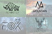 I will Do Modern Minimalist Logo design for your business 16 - kwork.com