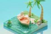 Complex work with 3D 6 - kwork.com