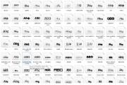 930 A set of rarer fonts 4 - kwork.com